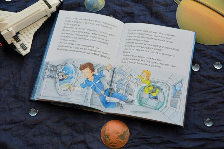 Major Tom im Weltraum