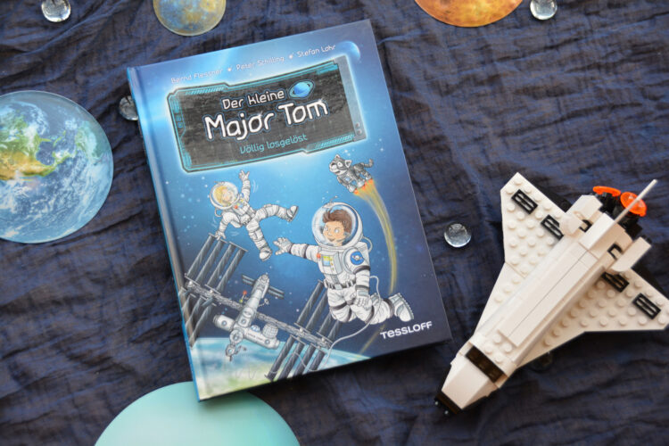 Kinderbuch kleine Major Tom