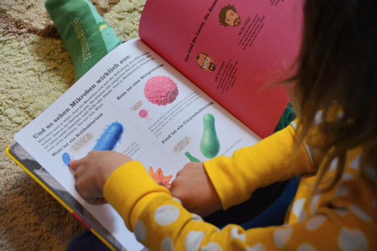 Mikroben für Kinder