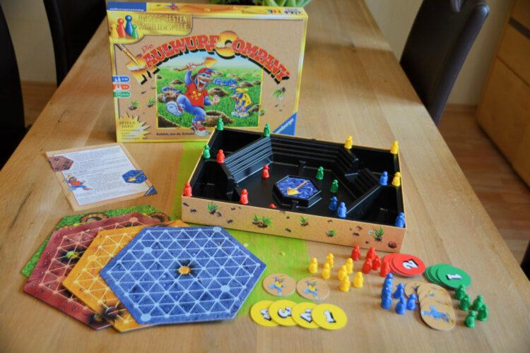 Maulwurf Company Familienspiel