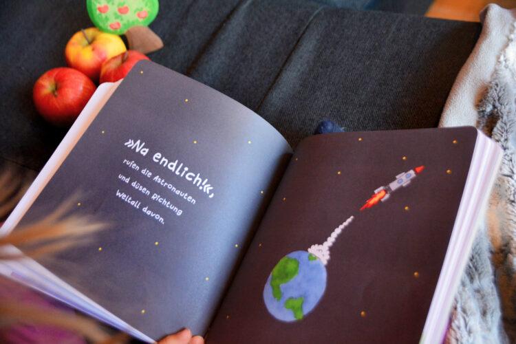 Raketenstart im Kinderbuch