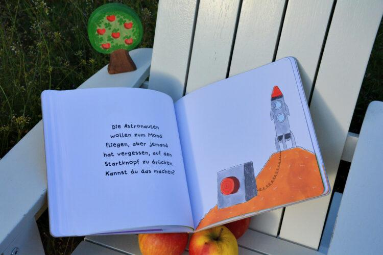 Schüttel den Apfelbaum Rakete