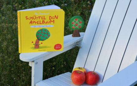 Schüttel den Apfelbaum – Das Mitmachbuch: Schüttel, puste, drück mal! + Gewinnspiel