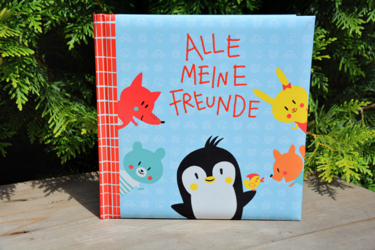 Pipo Pinguin Freundebuch