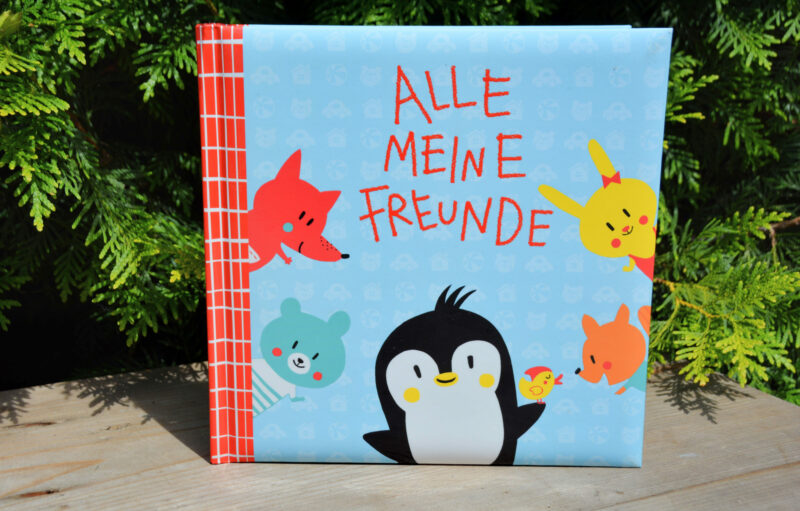 Alle meine Freunde – Ein Freundebuch mit Pipo Pinguin