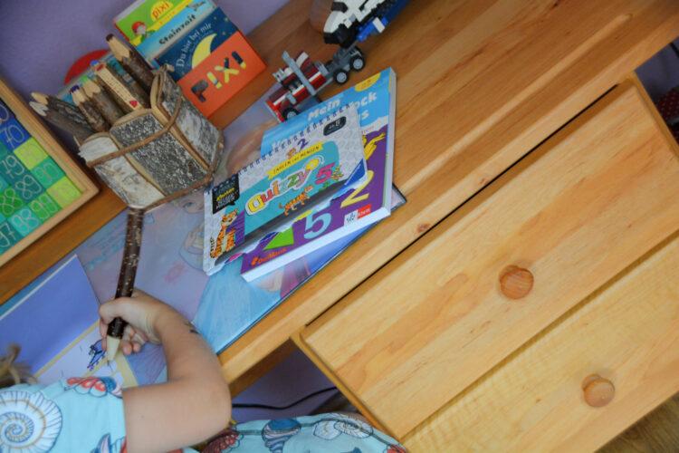 Lernen am Kinderschreibtisch