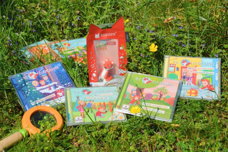 Fuchsbande Hörspiel-CD und Tonie