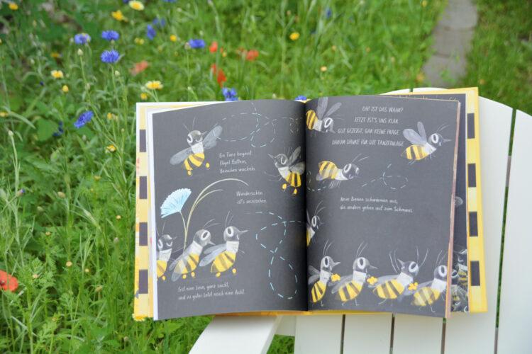 Bienentanz zur Blumenwiese