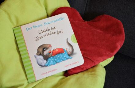 Pappbilderbuch-Zucker: Der kleine Siebenschläfer – Gleich ist alles wieder gut