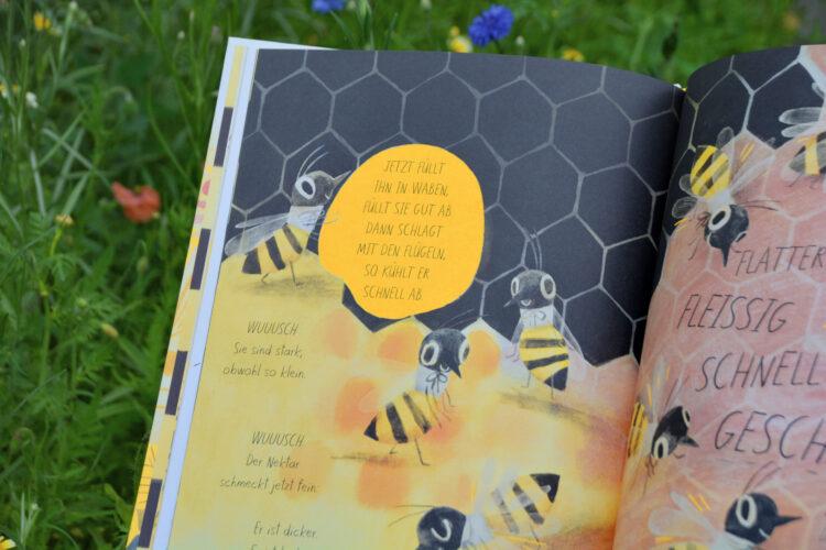Honigbienen und ihr Honig