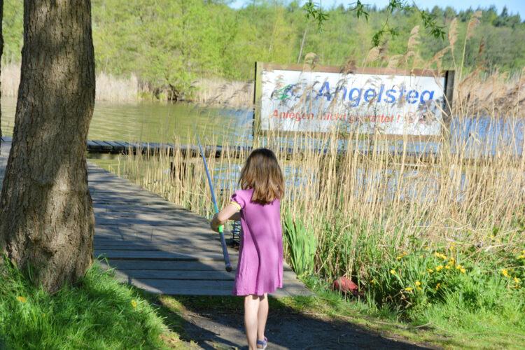 Kinder angeln