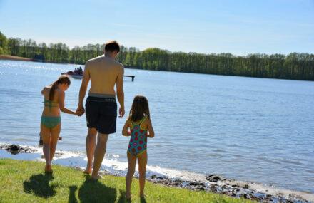 Familienurlaub an der Mecklenburgischen Seenplatte: Ansommern im Ferienpark Mirow