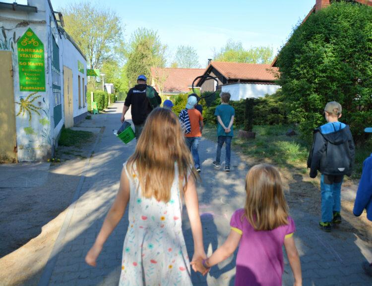 Kinderangeln im Ferienpark Mirow
