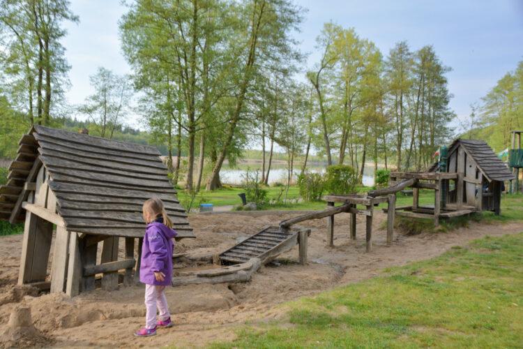Holzspielplatz Ferienpark Mirow