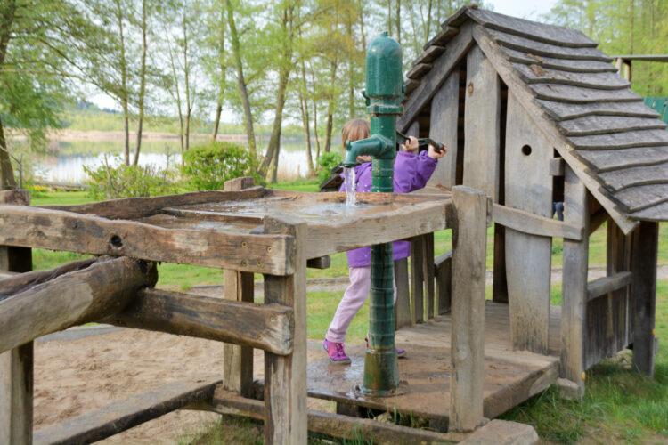 Wasserspielplatz Ferienpark Mirow
