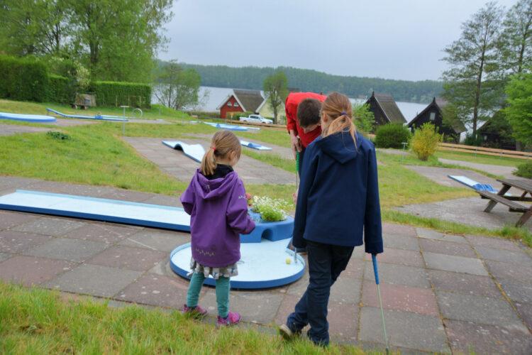 Minigolf im Ferienpark Mirow
