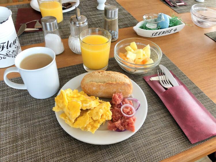 Mein Frühstück im Aparthotel