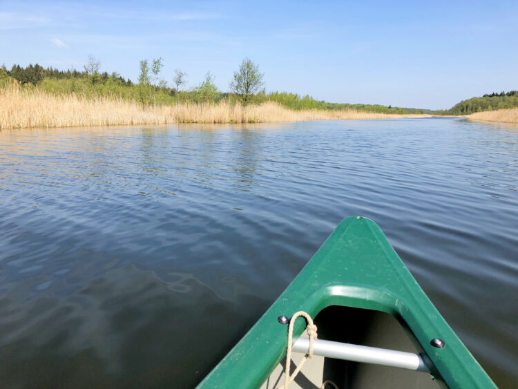 Kanufahrt durch die Mecklenburgische Seenplatte