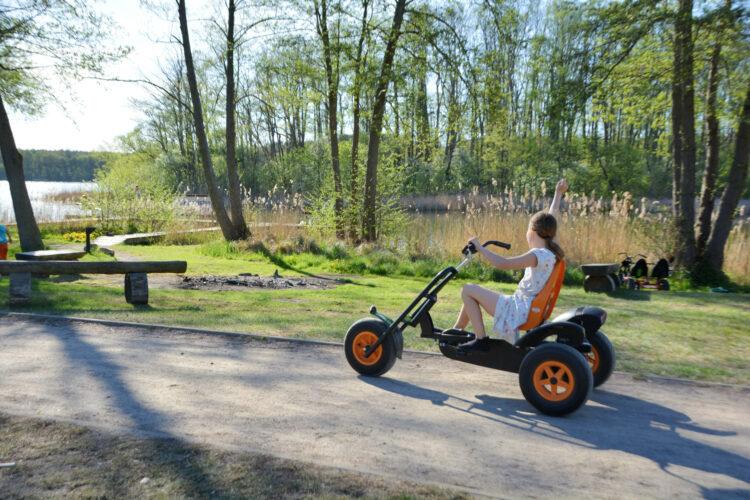 Go-Kart im Ferienpark Mirow