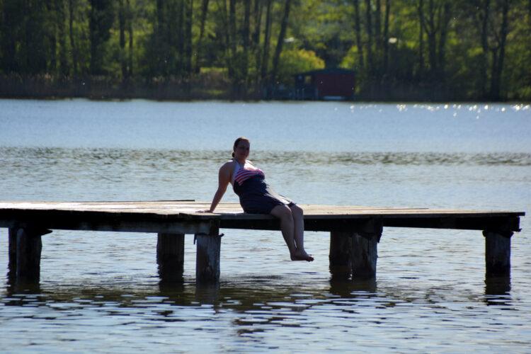 Schwimmen im Ferienpark Mirow