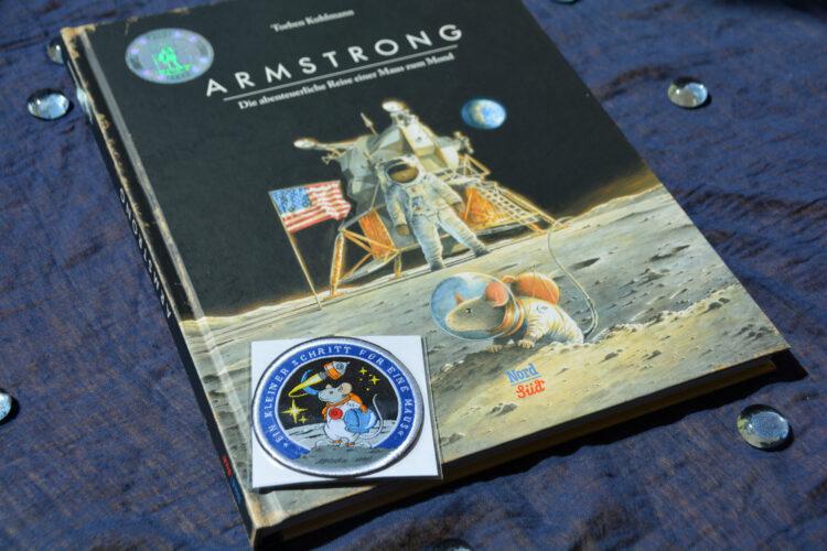 Mäuse-Patch Armstrong-Astronauten
