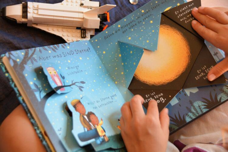 """Pappbilderbuch zum Thema """"Sterne"""""""