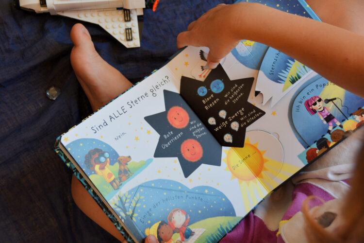 Kinderbuch über Sterne