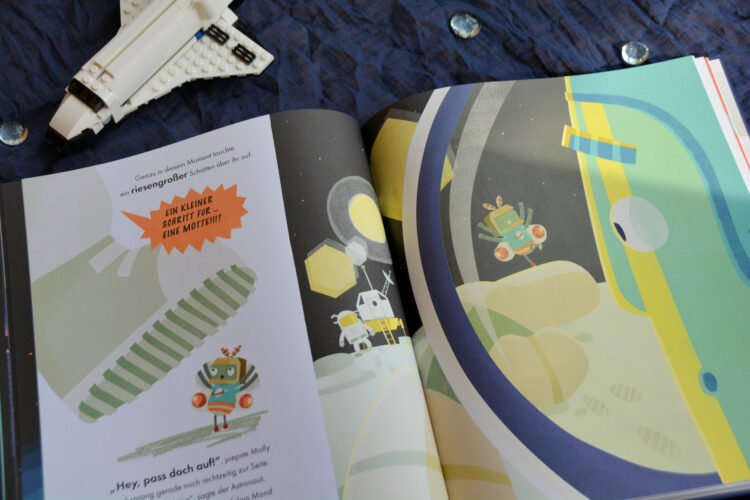 Kinderbuch Mollys Flug zum Mond