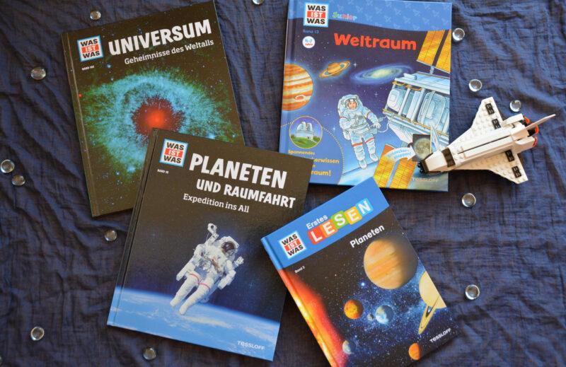 WAS IST WAS: Universum, Weltraum, Planeten und Raumfahrt + Verlosung