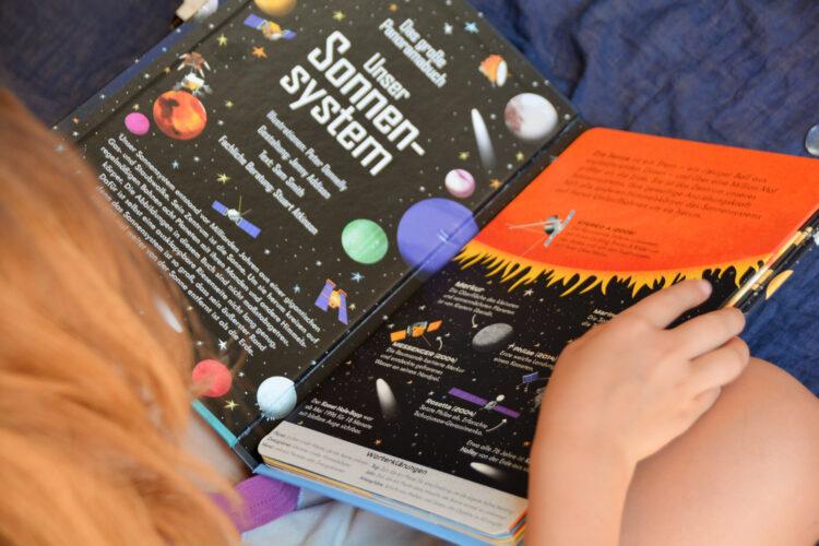 Panoramabuch Sonnensystem