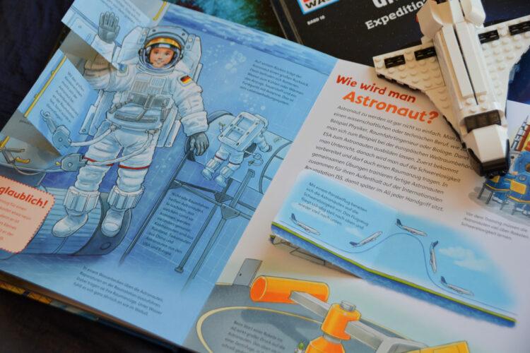 Sachbuch für Kinder Weltraum