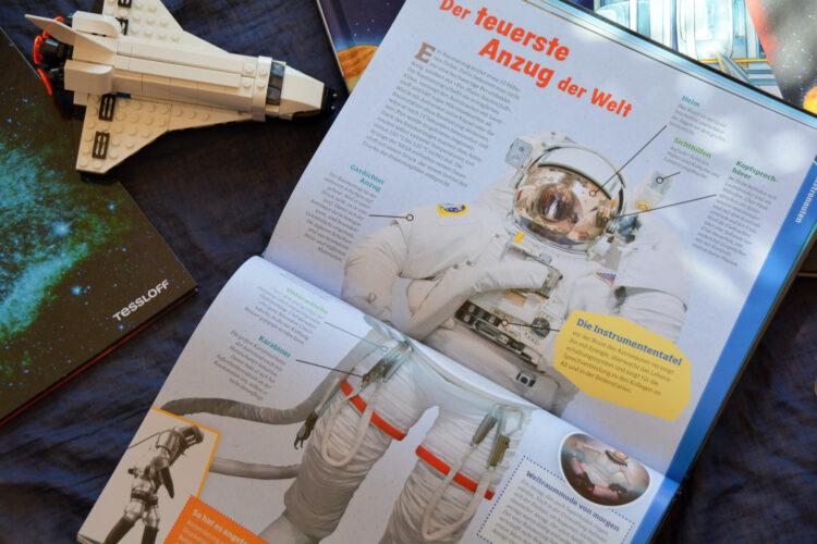 Raumanzug für Astronauten