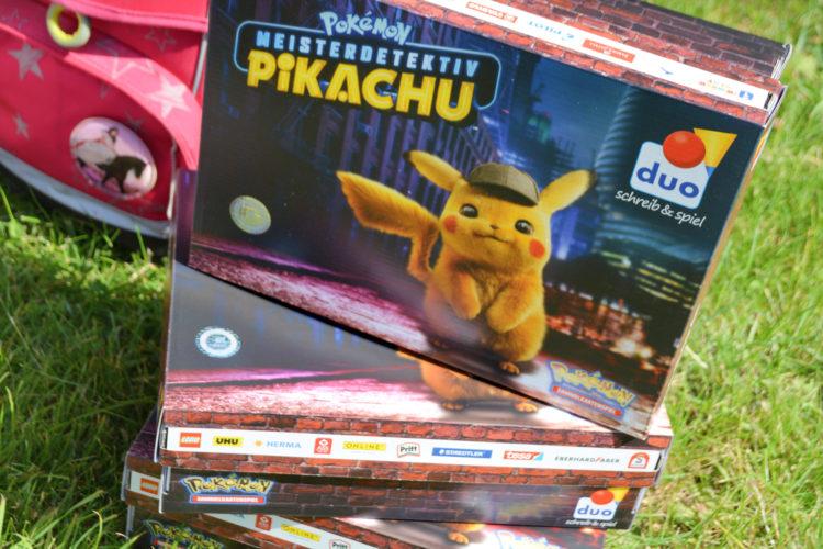 duo-Schulbox Pikachu