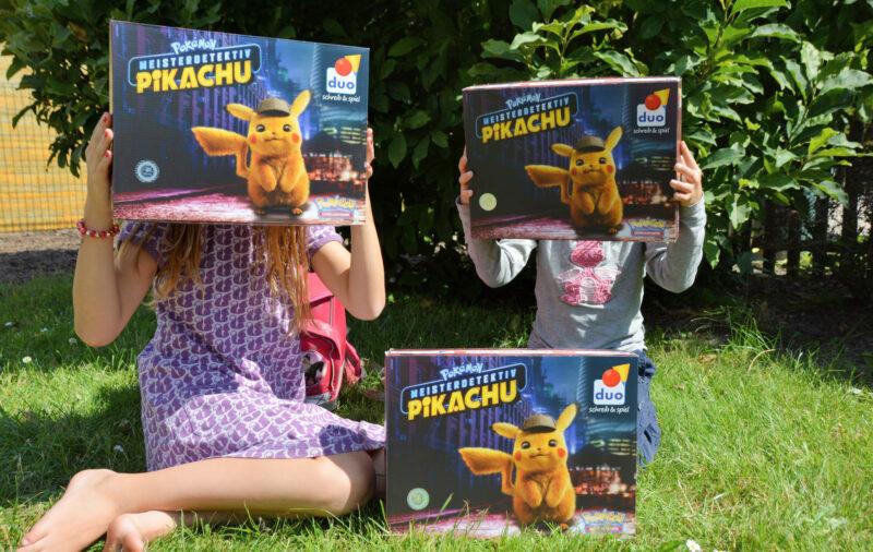 Unboxing duo-Schulbox 2019 mit Pokémon Meisterdetektiv Pikachu + Gewinnspiel