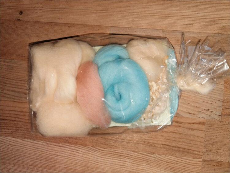 Bastelpackung Eisfee aus Märchenwolle