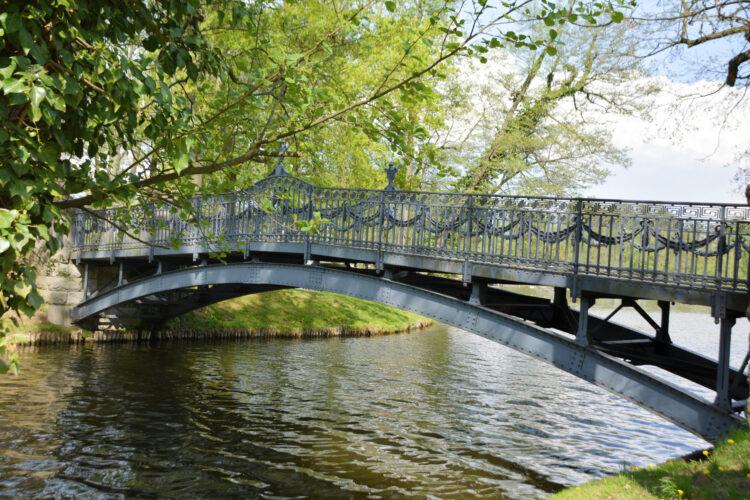 Brücke zur Liebesinsel Mirow