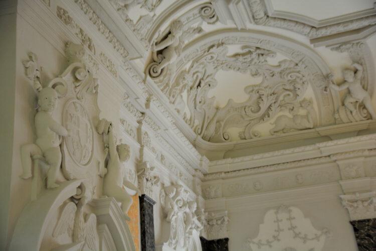 Schloss Mirow Deckengestaltung
