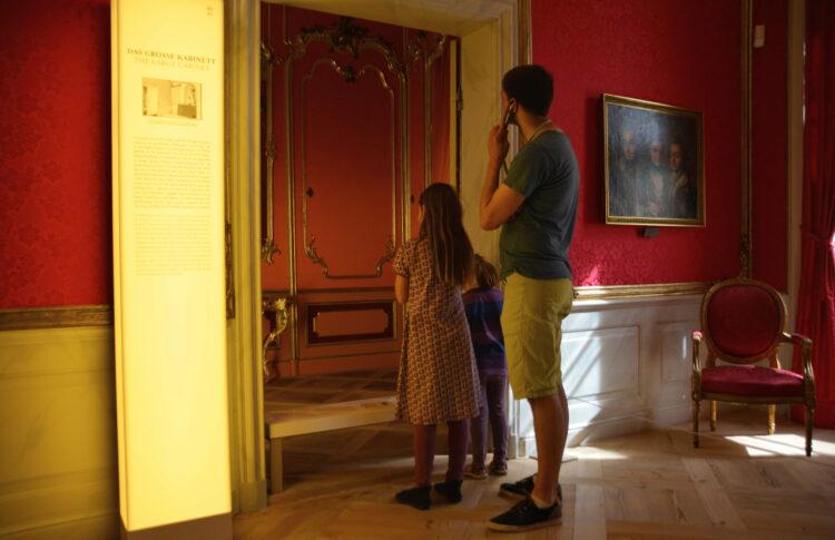 Schloss Mirow mit Kindern