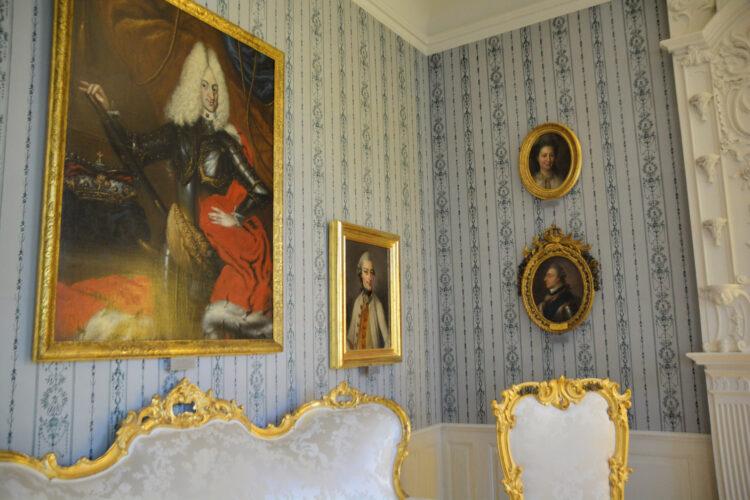 Familie im Schloss Mirow