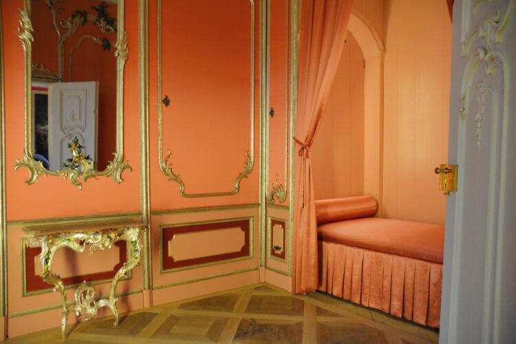 Schlafsaal im Schloss Mirow