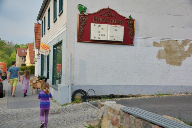 Schmitt´s Buchladen in Mirow