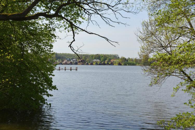 Blick auf den Mirower See