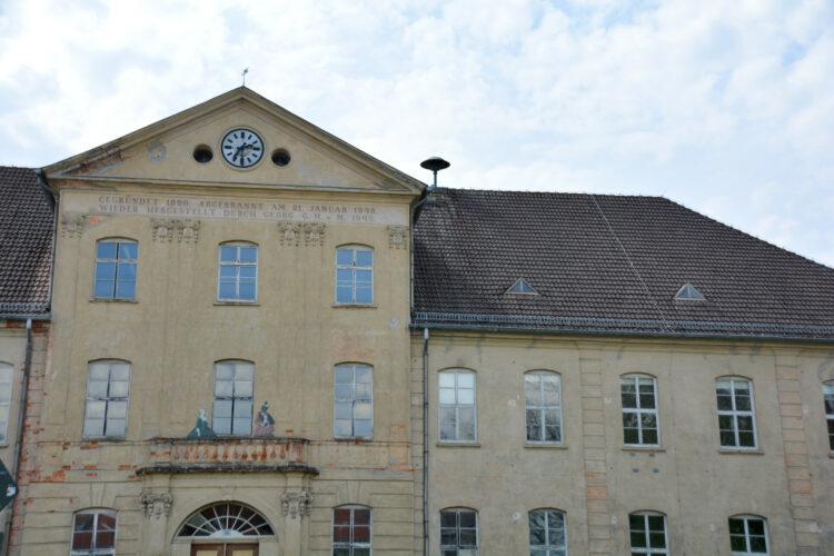 Untere Schloss in Mirow