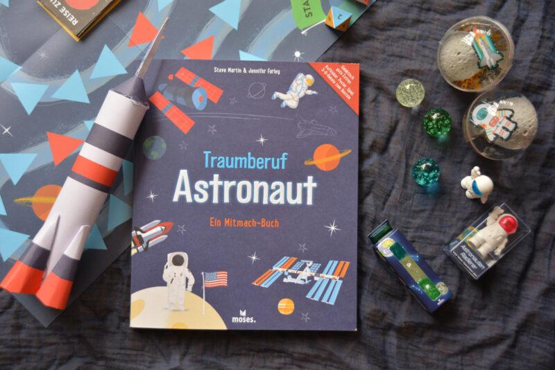 Traumberuf Astronaut: Ein Mitmach-Buch und mehr aus dem moses. Verlag + Gewinnspiel