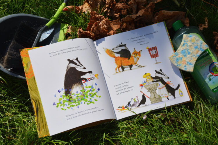 Aufgeräumt! Kinderbuch über den Wald