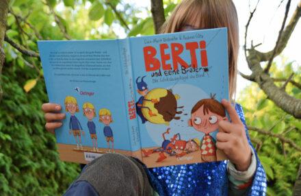 Berti und seine Brüder – Die Schokoladenkugel des Bösen: Kinder und ihre Superkräfte und ganz viel Geschwisterliebe + Gewinnspiel