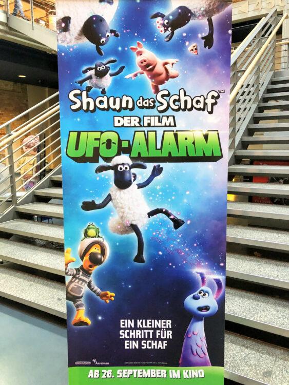 Preview in Berlin vom Kinderfilm Shaun der Film