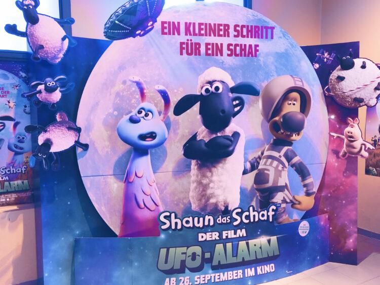 Film-Aufsteller zu Shaun das Schaf