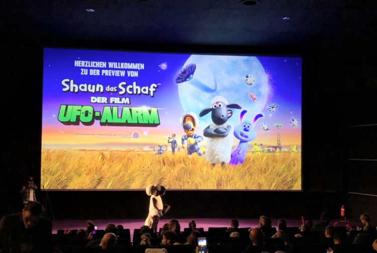 Familienfilm Ufo-Alarm im Kino