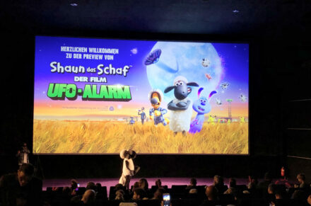 Shaun das Schaf – Der Film: Ufo-Alarm: Die Preview in Berlin!